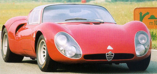 AlfaRomeo 33 Coupè Stradale - www.mitoalfaromeo.it