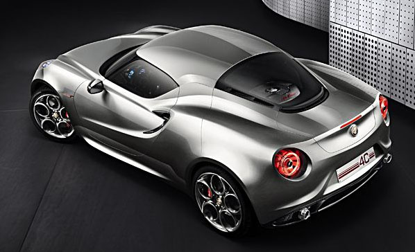 AlfaRomeo 4C - Salone Francoforte 2011 - www.mitoalfaromeo.it
